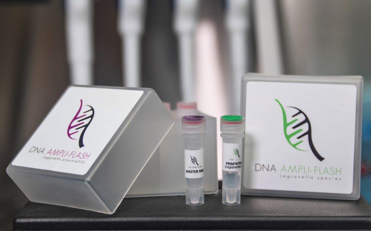 Kit de quantification des légionelles par PCR