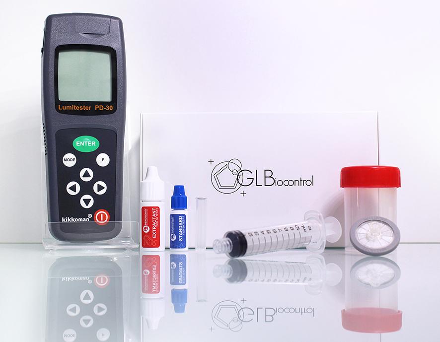 Test ATP pour eau industrielle pour la quantification des bactéries